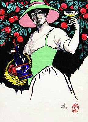 Painting - Belladonna And Apples by Roberto Prusso