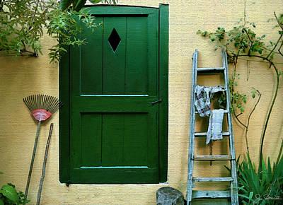 Photograph - Bellagio Door by Joe Bonita