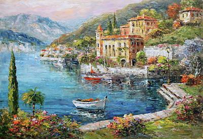 Lakeside At Bellagio, Lake Como Original