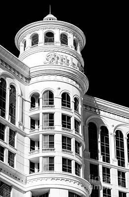 Bellagio Las Vegas Up Close Art Print by John Rizzuto