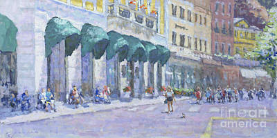 Lake Como Painting - Bellagio On A Summer Day by Jerry Fresia