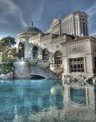 Photograph - Bellagio Shops by David Bearden