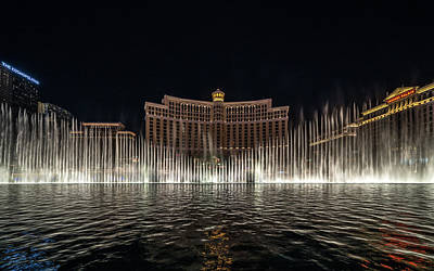 Photograph - Bellagio Symmetric by Framing Places