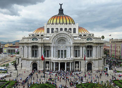 Photograph - Bellas Artes by Michael Niessen