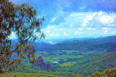 Digital Art - Bellbird Outlook by Chris Hood