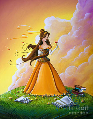 Belle Art Print by Cindy Thornton