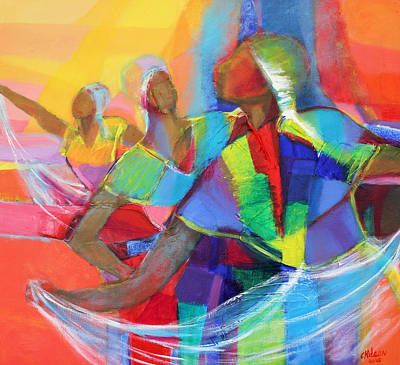 Belle Dancers II Art Print