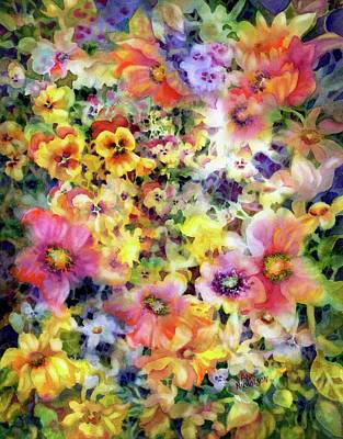 Painting - Belle Fleurs I by Ann Nicholson