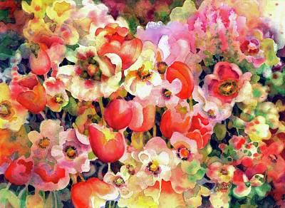Belle Fleurs II Art Print