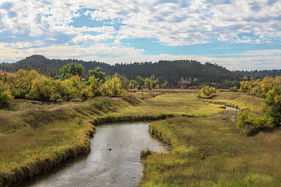 Photograph - Belle Fourche River by John M Bailey