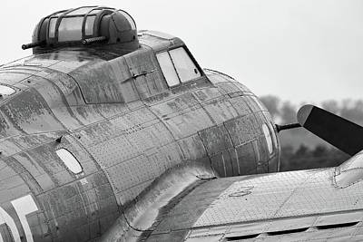 Photograph - Belle In The Rain - 2017 Christopher Buff, Www.aviationbuff.com by Chris Buff