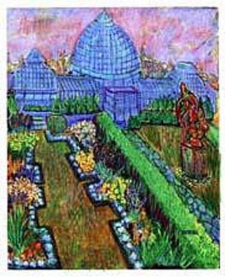 Painting - Belle Island Glasshouse by Don Thibodeaux