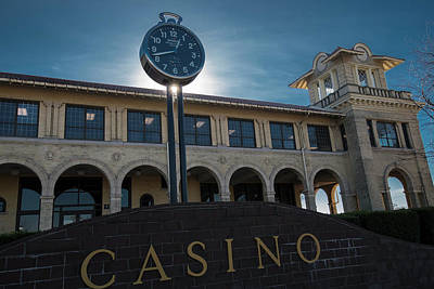 Photograph - Belle Isle Casino by Steven Dunn