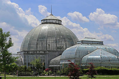 Photograph - Belle Isle Conservatory 2 by Mary Bedy