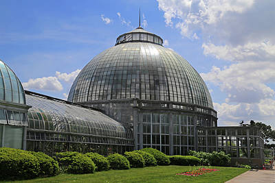 Photograph - Belle Isle Conservatory 3 by Mary Bedy