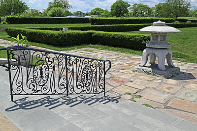 Photograph - Belle Isle Conservatory Garden by Mary Bedy