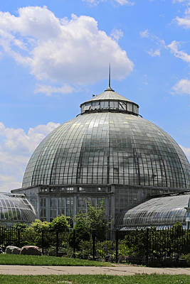 Photograph - Belle Isles Conservatory 1 by Mary Bedy