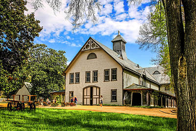 Belle Meade Plantation Tennessee Art Print by Chris Smith
