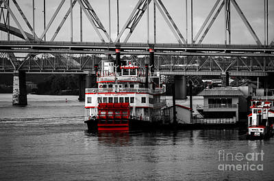 Photograph - Belle Of Cincinnati - Sc by Mary Carol Story