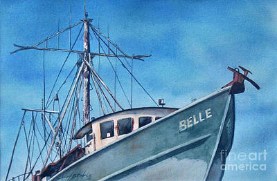 Painting - Belle Original by Sandy Brindle