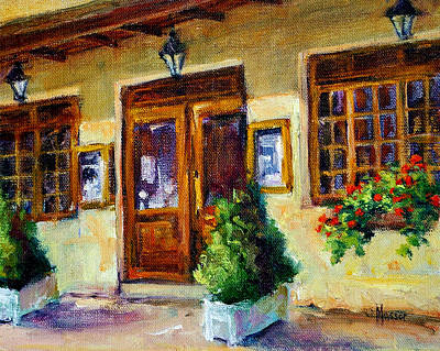 Painting - Hotel Belle Rive by Jill Musser