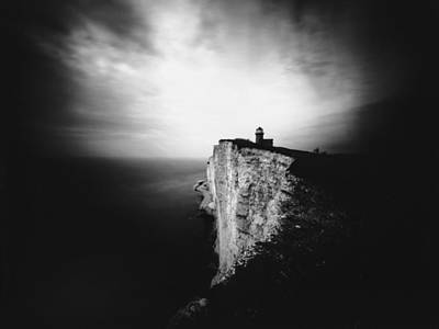 Photograph - Belle Tout Lighthouse. Pinhole Photo by Will Gudgeon