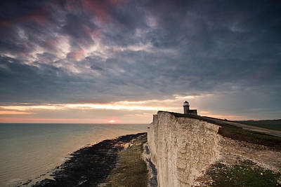 Photograph - Belle Tout Lighthouse by Will Gudgeon