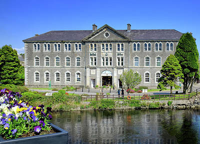 Photograph - Belleek Pottery - Reflected In The River Erne On A Sunny Late Spring Day by John Carver