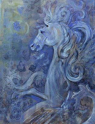 Pegasus Mixed Media - Bellerophons Companion by Jennifer Kelly