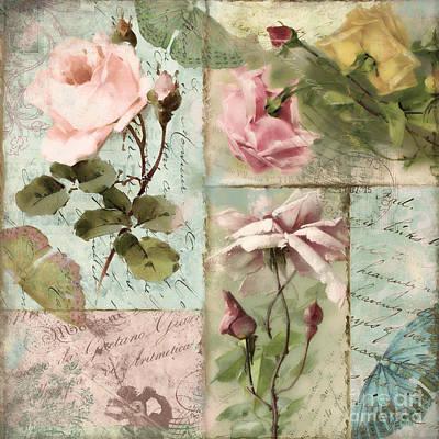 Beastie Boys - Belles Fleurs I by Mindy Sommers