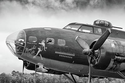 Photograph - Belle's Nose - 2018 Christopher Buff, Www.aviationbuff.com by Chris Buff