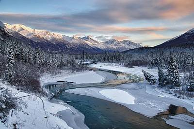Alaska Mountains Photograph - Bellevue by Ed Boudreau
