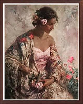 Simbari Painting - Belleza Serena by Jose Royo