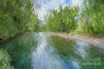 Wall Art - Digital Art - Bellinger River Nsw Australia by Julie Clyde