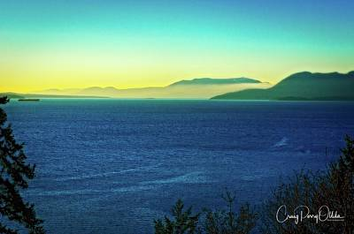 Photograph - Bellingham Bay Blues by Craig Perry-Ollila