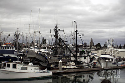 Photograph - Bellingham Bay Ship Yard by Clayton Bruster