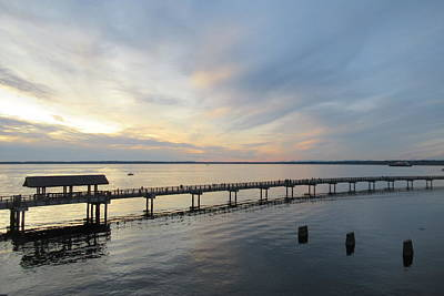 Photograph - Bellingham Bay Sunset by Karen Molenaar Terrell