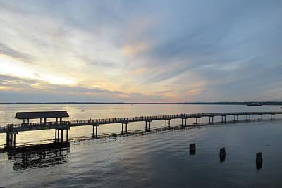 Photograph - Bellingham Bay Sunset by Karen Molenaar Terrell