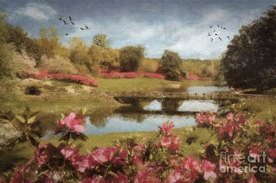 Digital Art - Bellingrath Gardens by Lianne Schneider