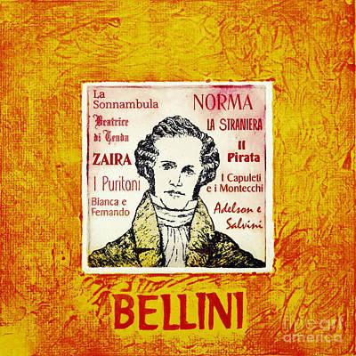 Bellini Portrait Art Print by Paul Helm