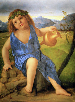 Photograph - Bellini's The Infant Bacchus by Cora Wandel