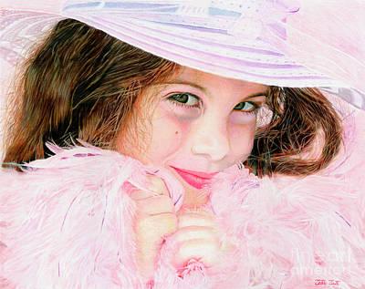 Bellla Baby Art Print