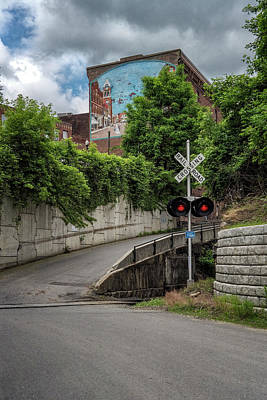 Photograph - Bellows Falls Rr Crossing by Tom Singleton