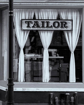 Bellows Falls Tailor Art Print