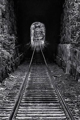 Photograph - Bellows Falls Train Tunnel by Tom Singleton