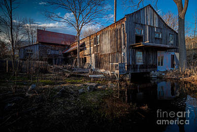 Bellrock Mill Art Print