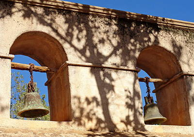 Photograph - Bells And Adobe by Robert Meyers-Lussier
