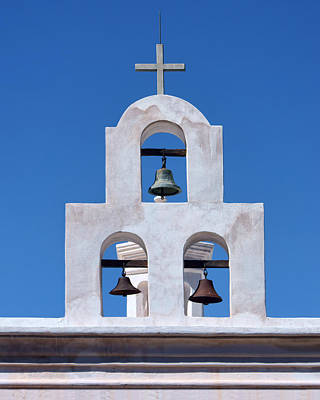 Photograph - Bells - San Xavier Del Bac - Arizona by Nikolyn McDonald