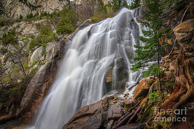 Photograph - Bells Waterfall by Spencer Baugh