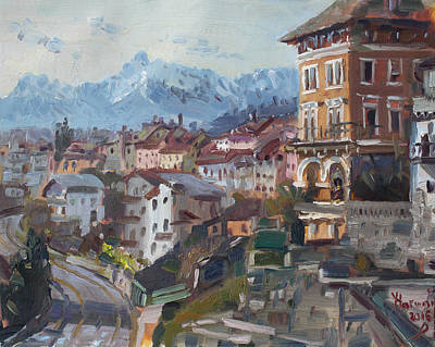 Belluno, Italy Art Print by Ylli Haruni